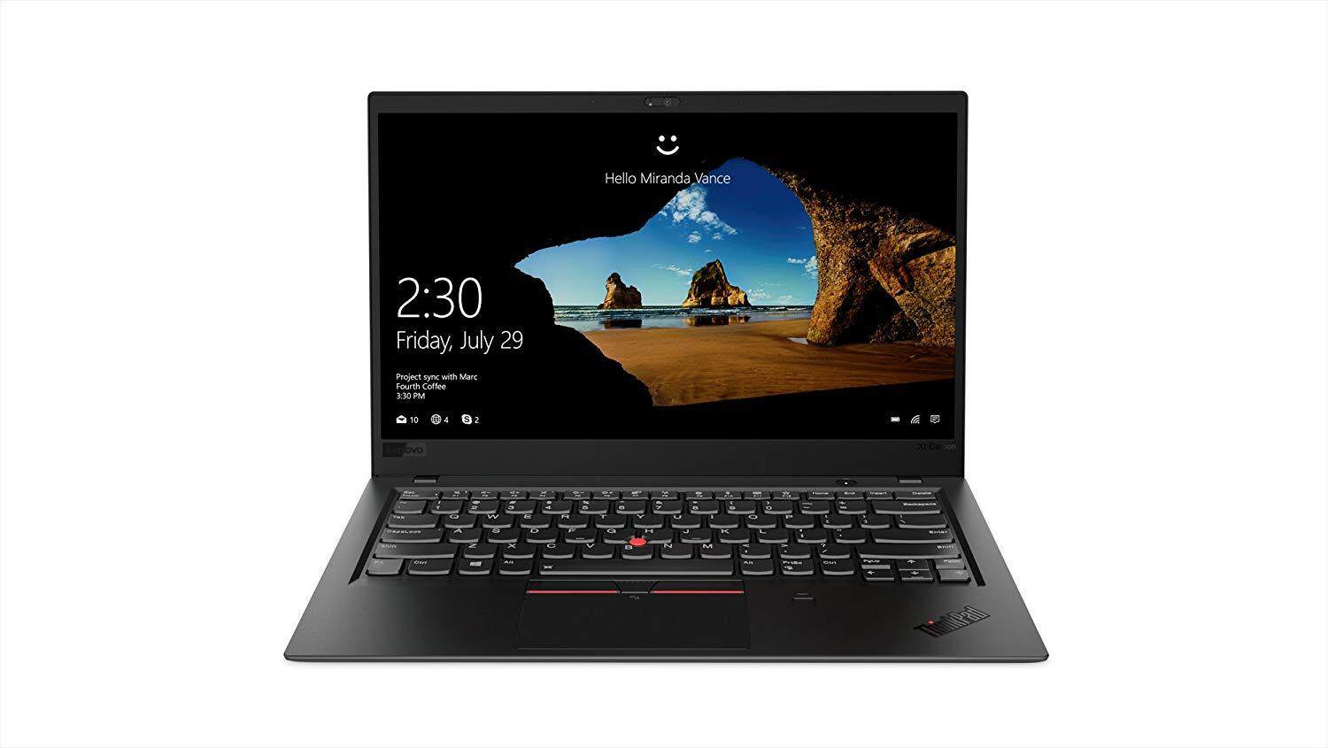 Lenovo ThinkPad X1 Carbon Laptop, High Performance Windows Laptop, (Intel Core i7, 16 GB RAM, 512GB SSD, Windows 10 Pro) Malaysia