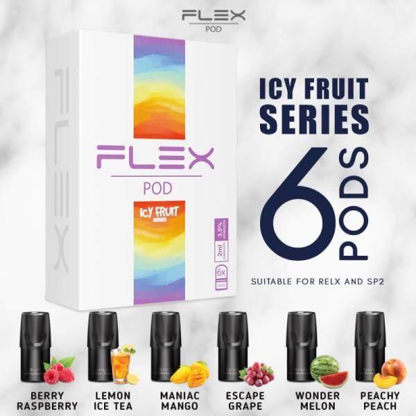 BEST BUY!! FLEX ICY FRUITY FLAVOR PODS Malaysia
