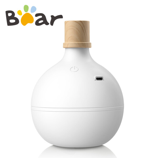 Bear Humidifier Home Small Portable Car Humidifier Mini USB Humidification Bedroom Desk Surface Mute Air Humidification White JSQ-B03A1 Singapore