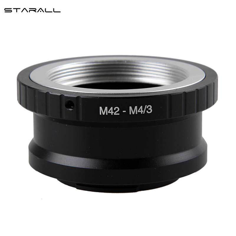 Starall M42 Lens To Micro 4/3 M4/3 Adapter Ep1 Ep3 Epl1 Epl2 Epl3 G1 Gf1 Gh1 M42-M43 By Starall.