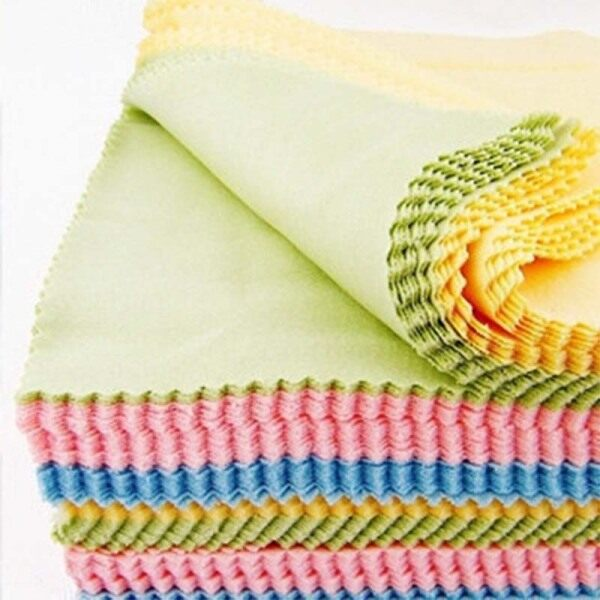 Giá bán 10pcs Lens Screen Microfiber Cleaning Cloth Spectacle Cloth Camera Household Cleaning