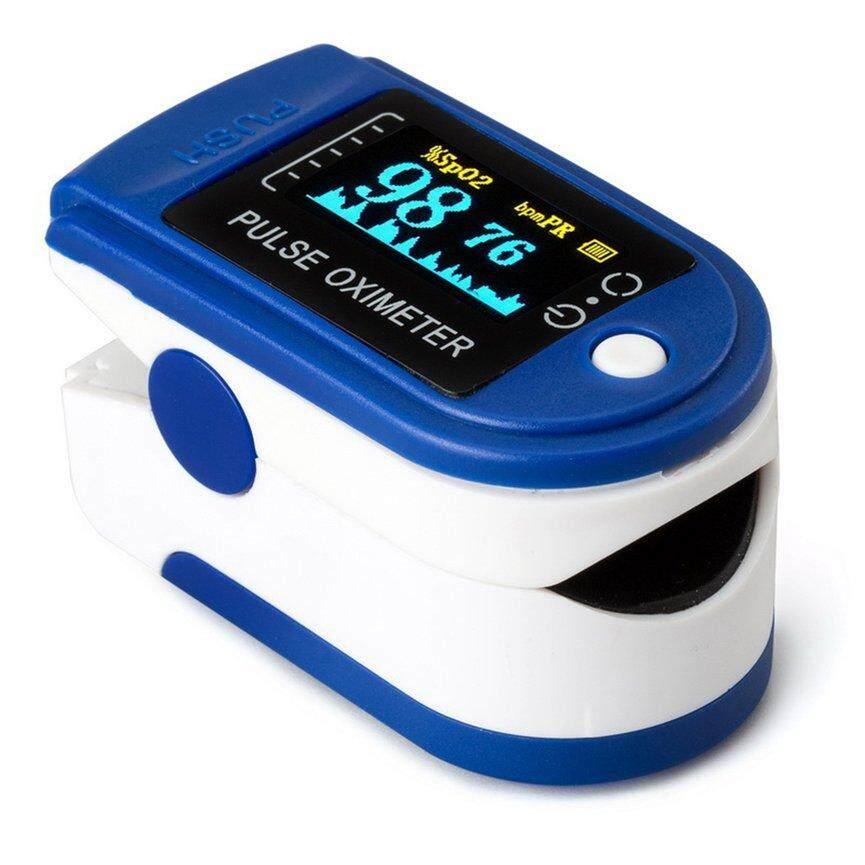 Top Bán Ngón Tay Pulse Oximeter SPO2 Theo Dõi Oxy Trong Máu Xung Đồng Hồ Đo Nhịp Tim bán chạy
