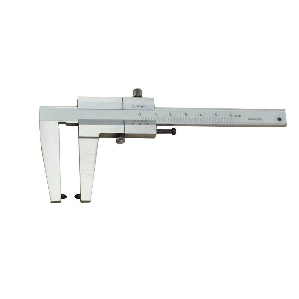 Micrometer Measuring Durable With Scale Brake Discs Woodworking Accurate Portable Gauge Stainless Steel Ruler Vernier Caliper——(1 pcs)