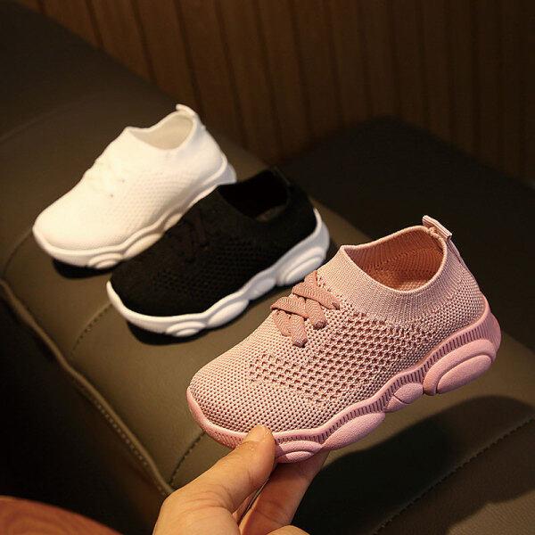 Giá bán Giày Thể Thao Đế Mềm Cho Trẻ Mới Biết Đi, Giày Thoáng Khí Cho Bé Trai Và Bé Gái, Giày Chống Trượt