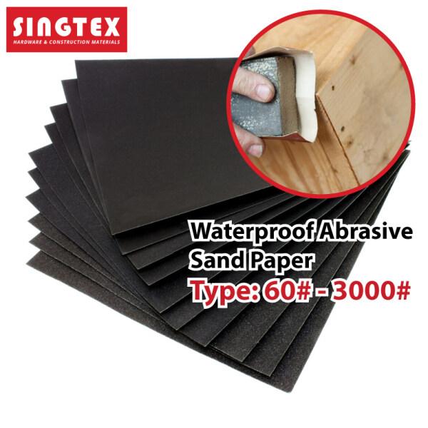 [READY STOCK] Sandpaper Abrasive Paper   Waterproof Abrasive Sandpaper   Kertas Pasir   Premium Quality