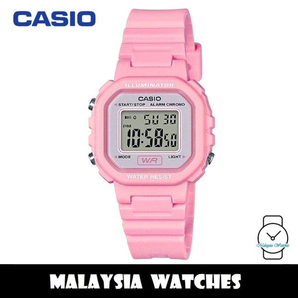 (100% Original) Casio LA-20WH-4A1 Classic Digital Pink Resin Watch LA20WH LA20WH-4A1 LA-20WH-4A1VDF Malaysia