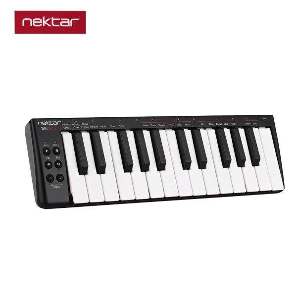 ღ♬YApink nektar SE25 Mini 25-Key USB MIDI Keyboard Controller Velocity Sensitive USB Powered Malaysia