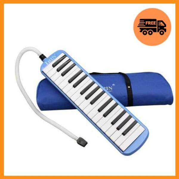 Hot Sale 32 Piano Keys Melodica Musical Instrument for Music Lovers Beginners Gift with Carrying Bag (Blue) Malaysia