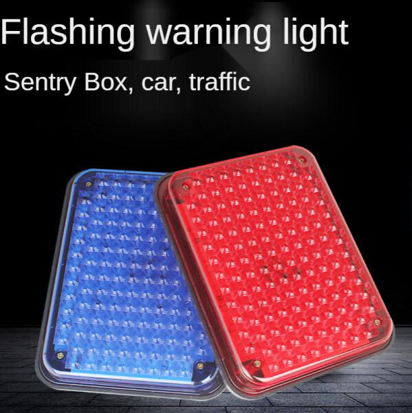 Bảng giá Đèn LED Nhấp Nháy Màu Đỏ Và Xanh Dương 12V Cho Xưởng Sản Xuất, Đèn Cảnh Báo Xe Đa Năng Hộp Bảo Vệ An Ninh Đèn Cảnh Báo Đèn Cảnh Báo Xe Ô Tô