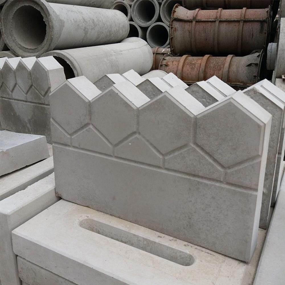 Reusable DIY Decor Antique Outdoor Durable Plastic Pave Making Tool Cement  Brick Mold