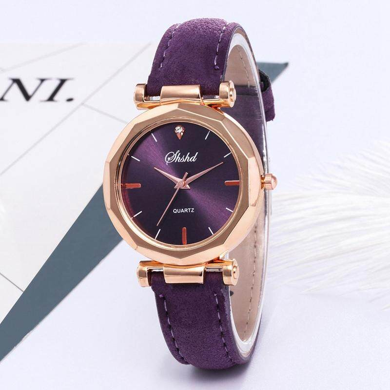 SUNNY Fashion Ladies Leather Casual Watch Luxury Analog Quartz Wristwatch Gifts Malaysia