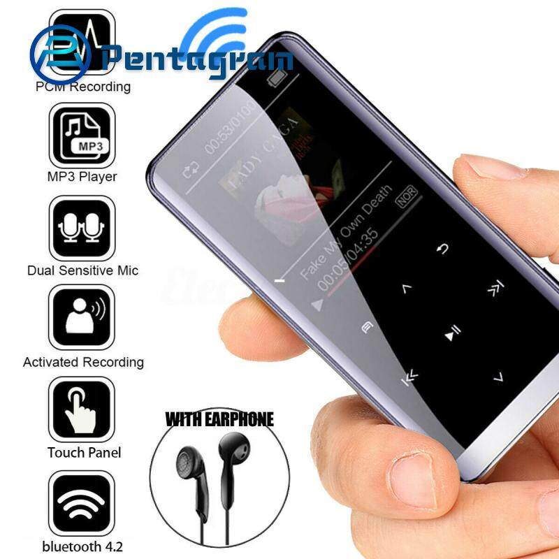 GloryStar Bluetooth MP3 Đài FM Đầu Ghi MP4 Nghe Hifi Mediasport Nhạc 8G/16G/32G Với bluetooth Mà Không Cần Tai Nghe Blueooth