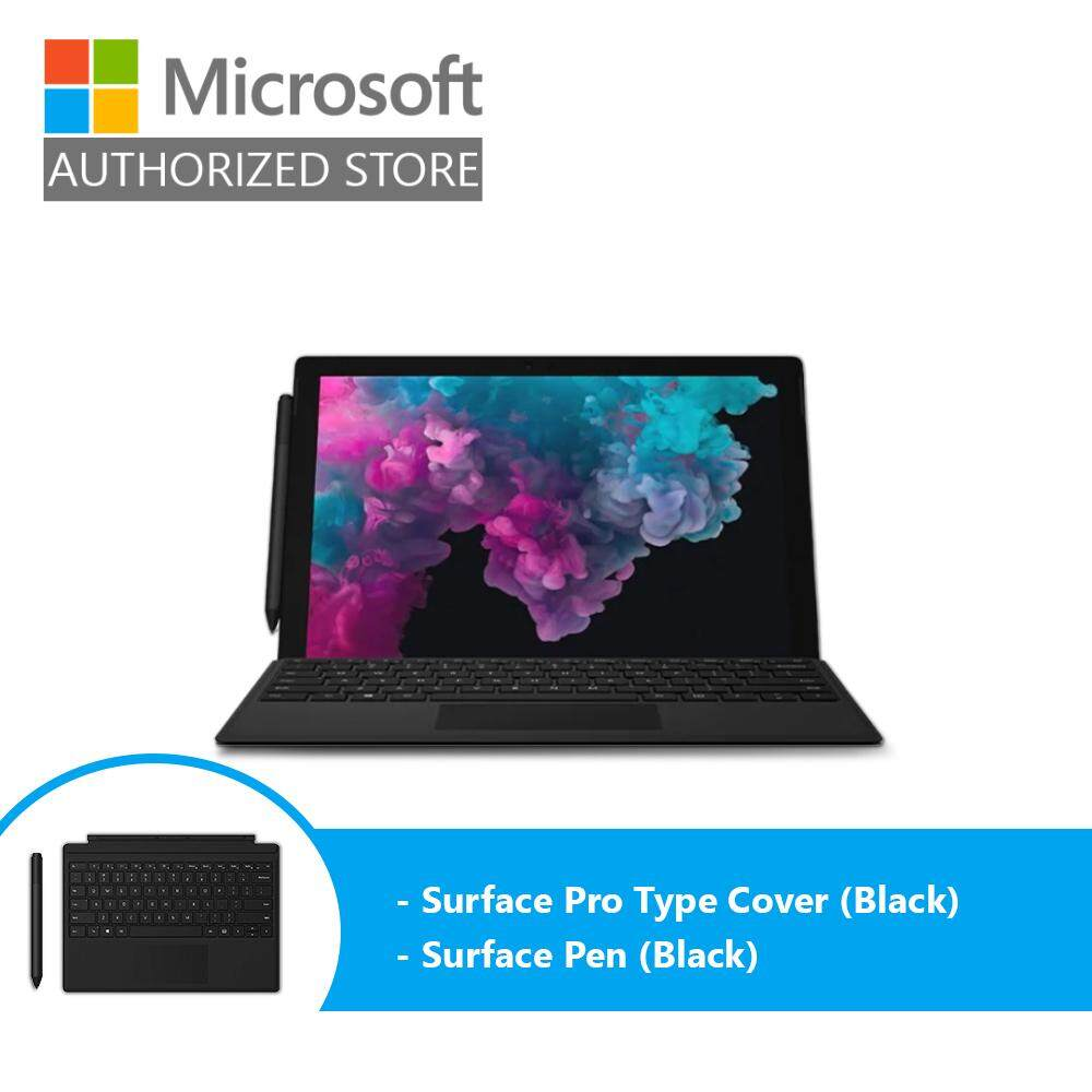 Microsoft Surface Pro 6 - Platinum (i7/16GB/512GB/12 /Windows 10) + Type Cover (Black) + Pen (Black) Malaysia