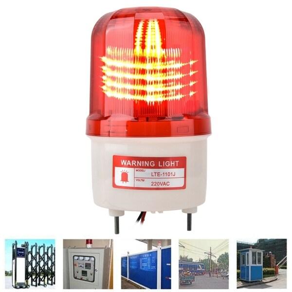 Đèn Led Xoay 5W Đèn Cảnh Báo Khẩn Cấp Xây Dựng Giao Thông Có Còi Báo Động, AC220V