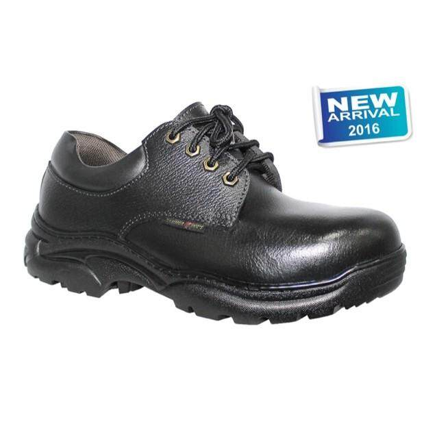 HAMMER KING MEN GENUINE LEATHER SAFETY SHOE (MODEL : 13008)