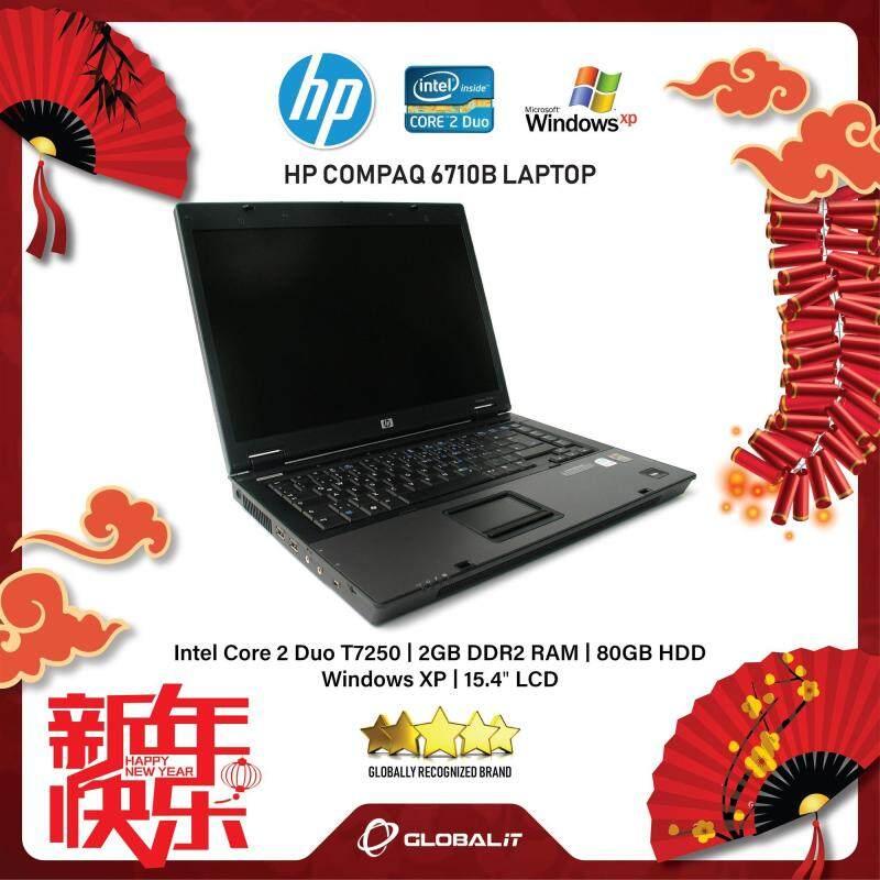 (Refurbished Notebook) HP Compaq 6710B Laptop / 15.4 inch LCD / Intel Core 2 Duo / 2GB Ram / 80GB HDD / WiFi / Windows XP Malaysia