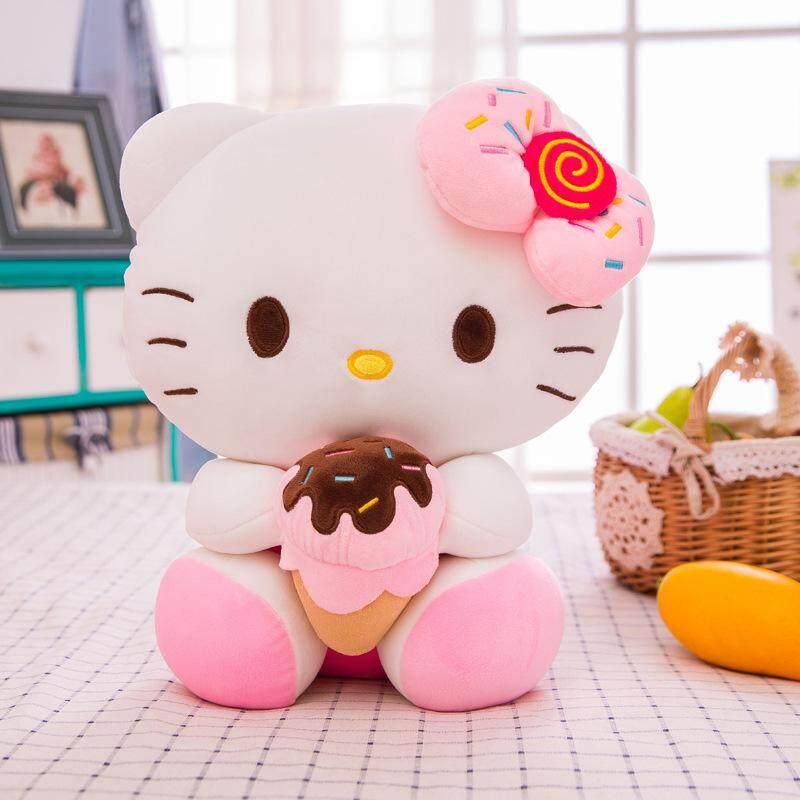 New Hello Kitty Doll Soft Down Cotton KT Cat Plush Toy Pillow Hello Kitty