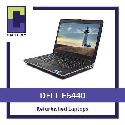 [Refurbished] DELL E6440 Laptop / Intel i5 4th gen / 4GB RAM / 128GB SSD / Windows 7 / One Month Warranty Malaysia