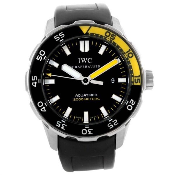 IWC Aquatimer 2000 Black Dial Automatic Watch IW356802 Malaysia