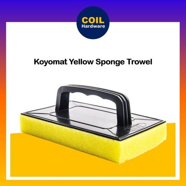 [KOYOMAT] Sponge Trowel | Sponge Float Plastering Trowel With Handle | Papan Gosok Span Cuci
