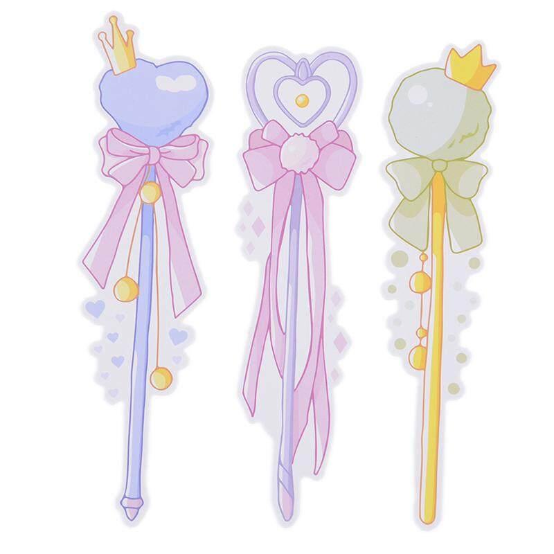 Littlegroot 30 Pcs/pack Girls Magic Wand Bookmark Paper Cartoon Bookmark By Littlegroot.