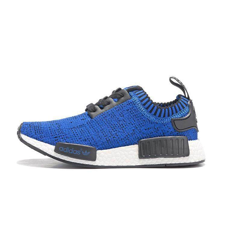 ee1741ff853f3 New Original Adidas NMD men and women casual shoes blue Running Shoes
