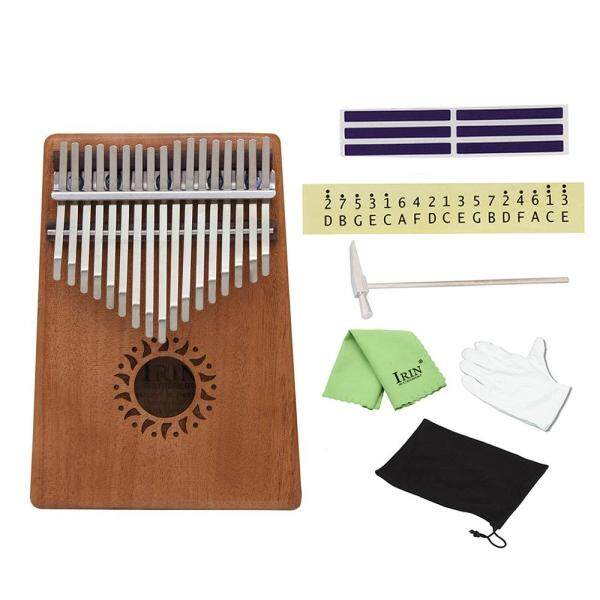 Xách Tay 17 Phím Kalimba Đàn Piano Bỏ Túi Mbira Nhạc Cụ Gỗ Gụ Rắn Quà Tặng Cho Những Người Yêu Âm Nhạc Học Sinh Mới Bắt Đầu