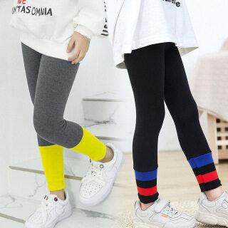Quần Legging Bé Gái Cho Trẻ Em Quần Legging Trẻ Em Co Giãn Mùa Thu Quần Skinny Nữ Cầu Vồng Quần Legging Nữ Ôm Vải Nhung Lông thumbnail