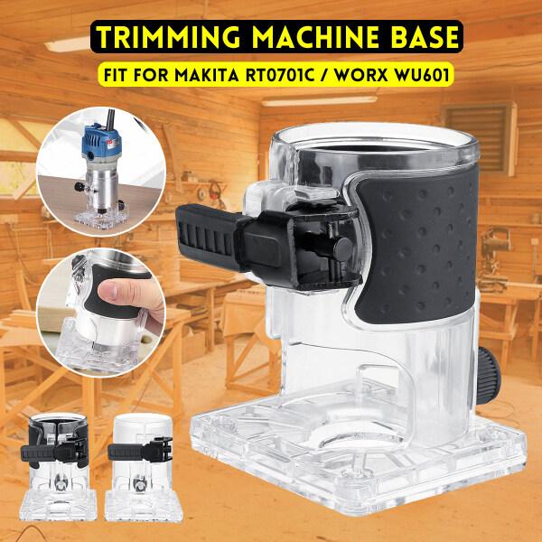 Anti-Slip Trimming Machine Housing Router Base For Makita RT0701C / Worx WU601