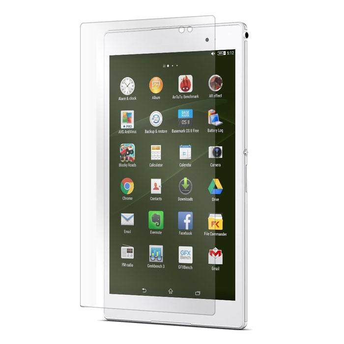 Premium 9H+Tempered Glass Screen Protector For Sony Xperia Z3 Compact Tablet 8.0