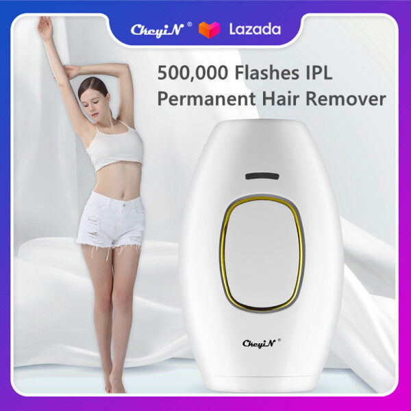 Buy CkeyiN 500,000 Flashes IPL Hair Removal, Permanent Painless Laser Hair Remover Device for Women and Man Face Bikini Area Legs Underarm Arm All Body Parts MT115 Singapore