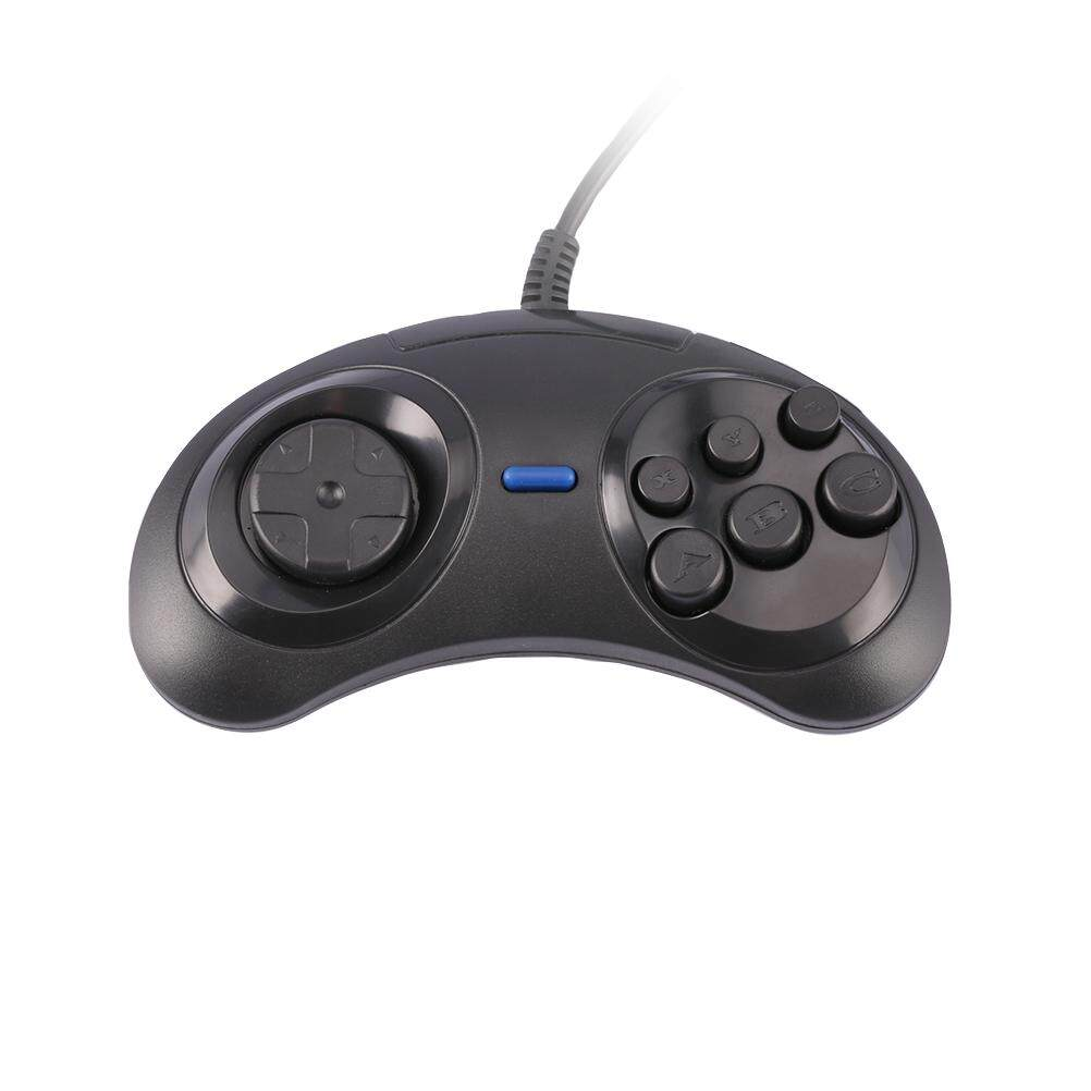Giá Truyền Thuyết 6 Nút Có Dây Miếng Lót Điều Khiển Gamepad Cho Mega Drive SEGA MD Sáng Thế Ký