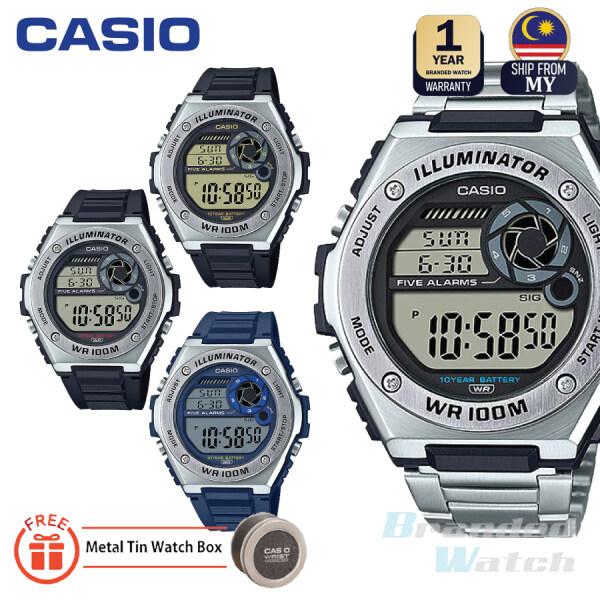 [100% ORIGINAL] CASIO MWD-100 SERIES MWD-100H-1A MWD-100H-2A MWD-100H-9A MWD-100HD-10 MEN DIGITAL QUARTZ WATCH Malaysia