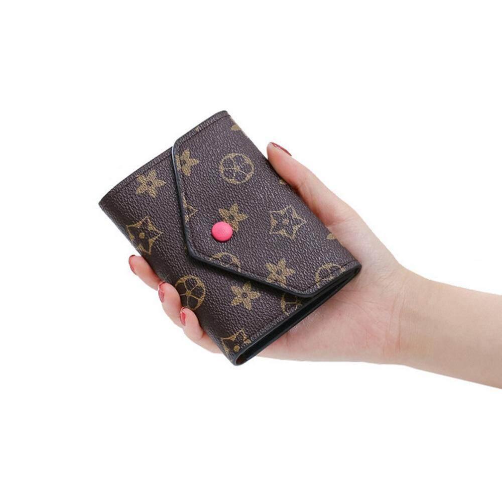 Etersummer Small Fold Wallet , Credit Card Case, Trifold Money Clip Wallet Coin Purse For Women By Etersummer Store.