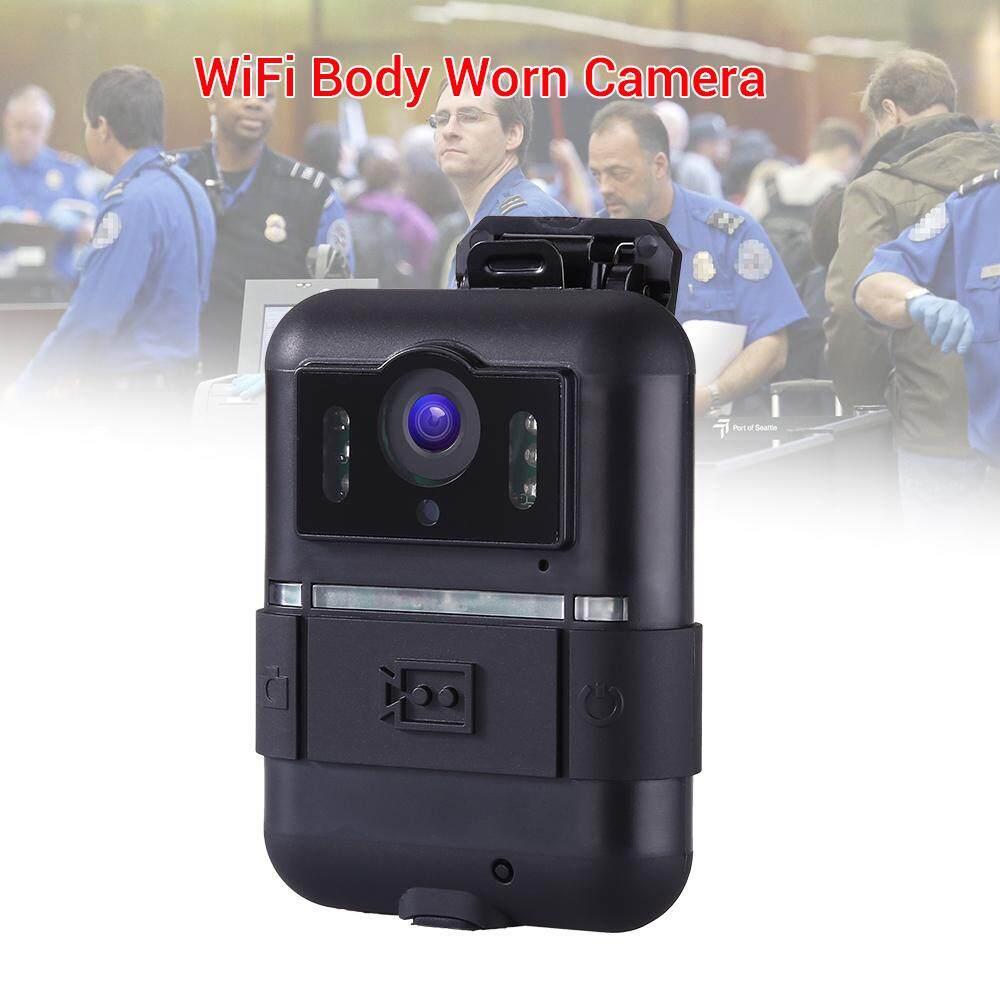 ที่สวมใส่กับตัวตำรวจกล้อง Wifi Hd 1296 P 32 Gb เครื่องบันทึกวิดีโอขนาดเล็กไนท์วิชั่น Ir By Jiehaosheng Estore.
