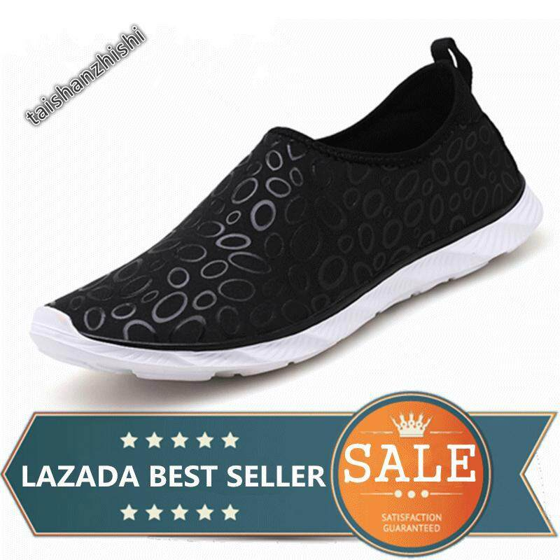 Water Shoes Outdoor Swimming Shoes Beach Shoes Unisex Yoga Shoes For Men And Women (black) By Taishanzhishi.