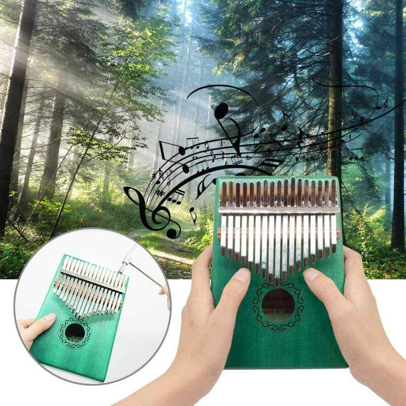 17 tone Kalimba thumb piano wholesale kalimba Kalinba 10 tone finger piano can be customized DIY Carry Bag, pickup and key stickers  Thumb Piano Mbira Sanza Hammer Musical Gift Malaysia
