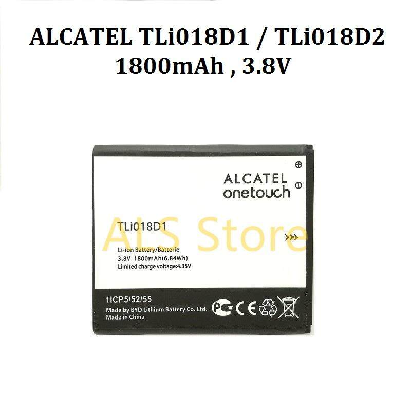 [REPLACEMENT] Battery ALCATEL ONE TOUCH POP 3 (5 0) 5015D 5016 5051A / POP  D5 OT-5038 5038D 5038X 5038A 5038E - TLi018D1 , TLi018D2 - 1800mAh