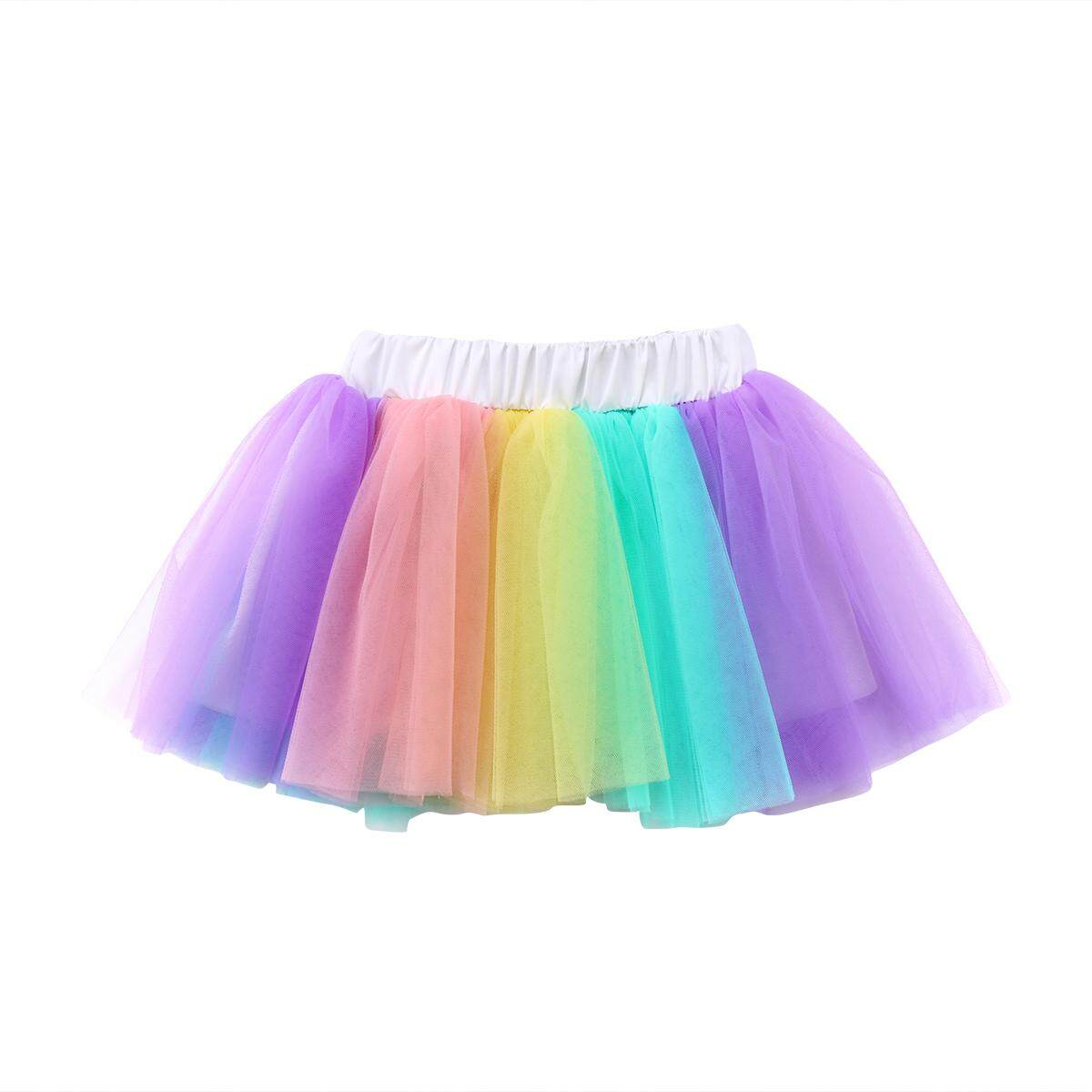 b51dcb14a Adorable Kids Baby Girls Iridescence Tulle Tutu Skirt Dress Dancewear  Costume