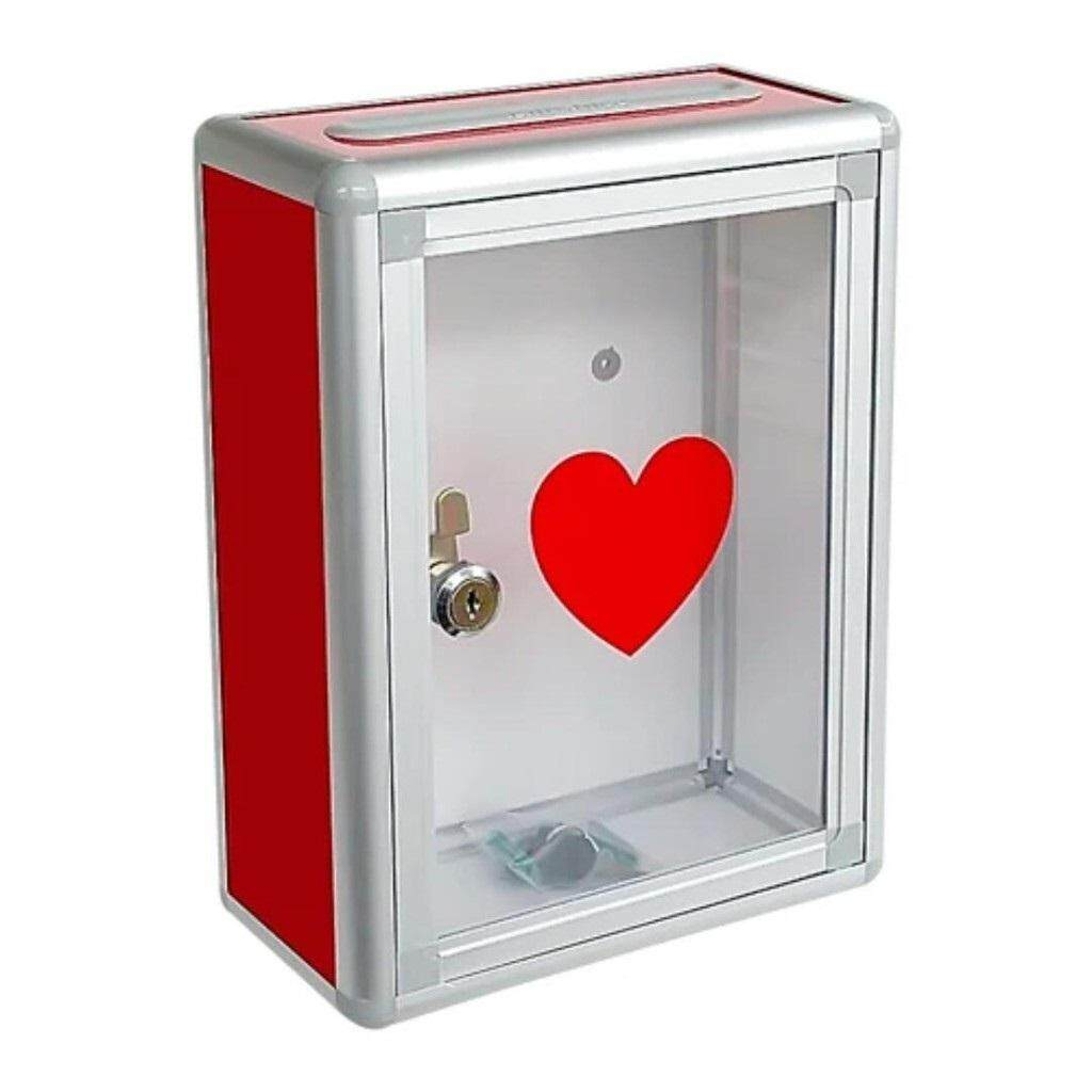 NEW Aluminium Mailbox Letter Box Suggestion /Donation Box