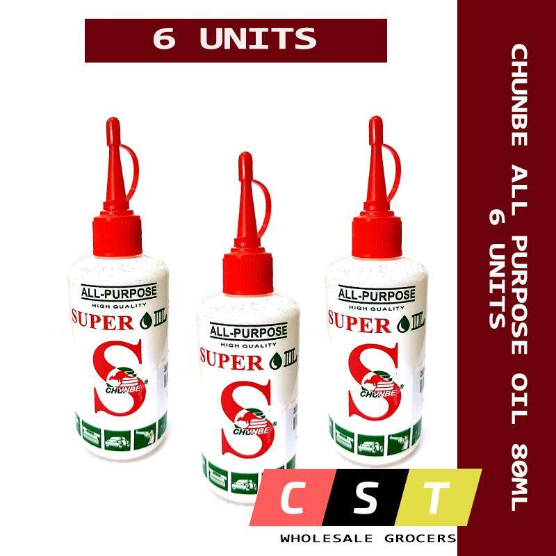 Chunbe All Purpose Super Oil 80ml X 6 UNITS