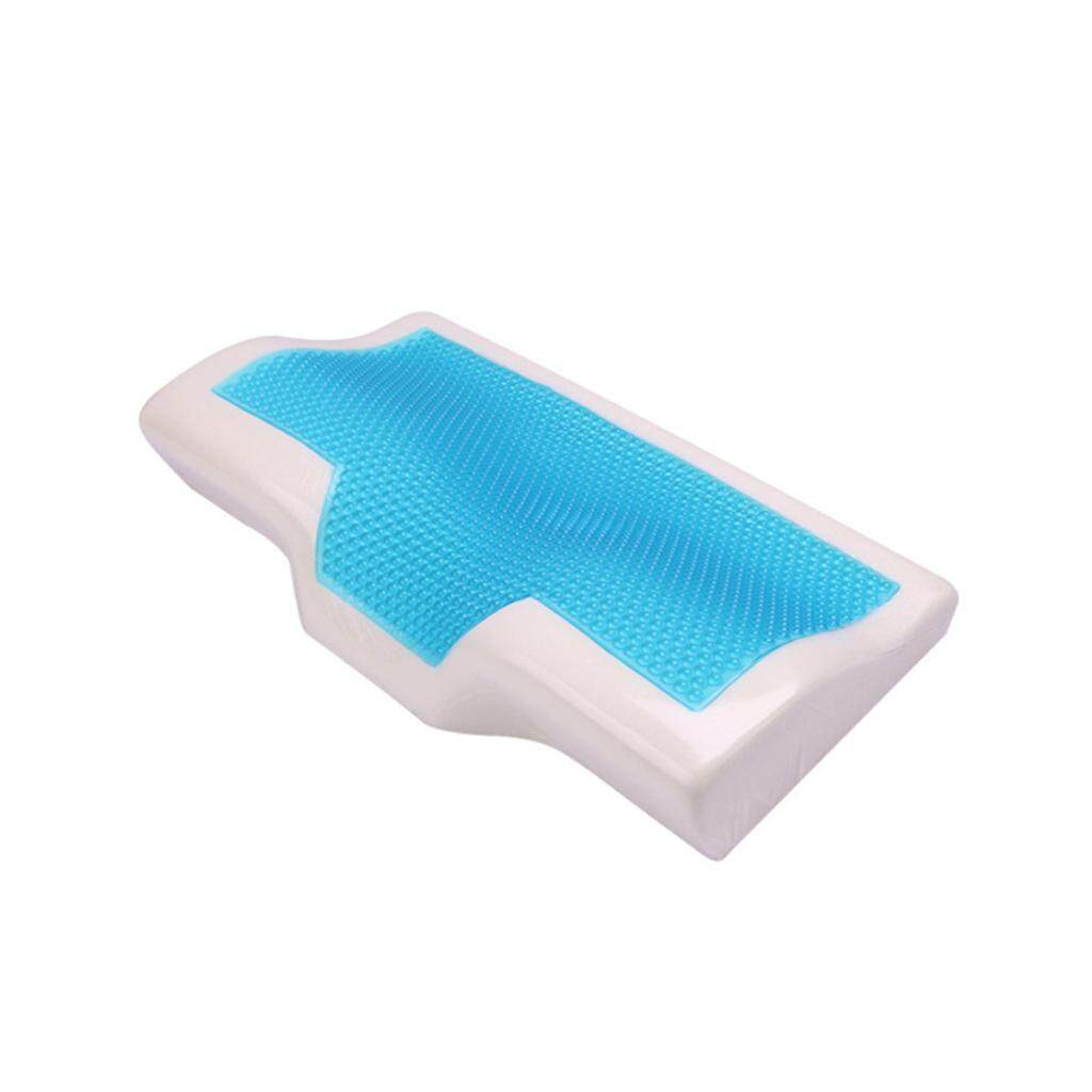 Memory Foam Cool Gel Pillow Summer Ice-cool Anti-snore Neck Orthopedic Sleep Pillow Cushion+Pillowcover For Home Beddings
