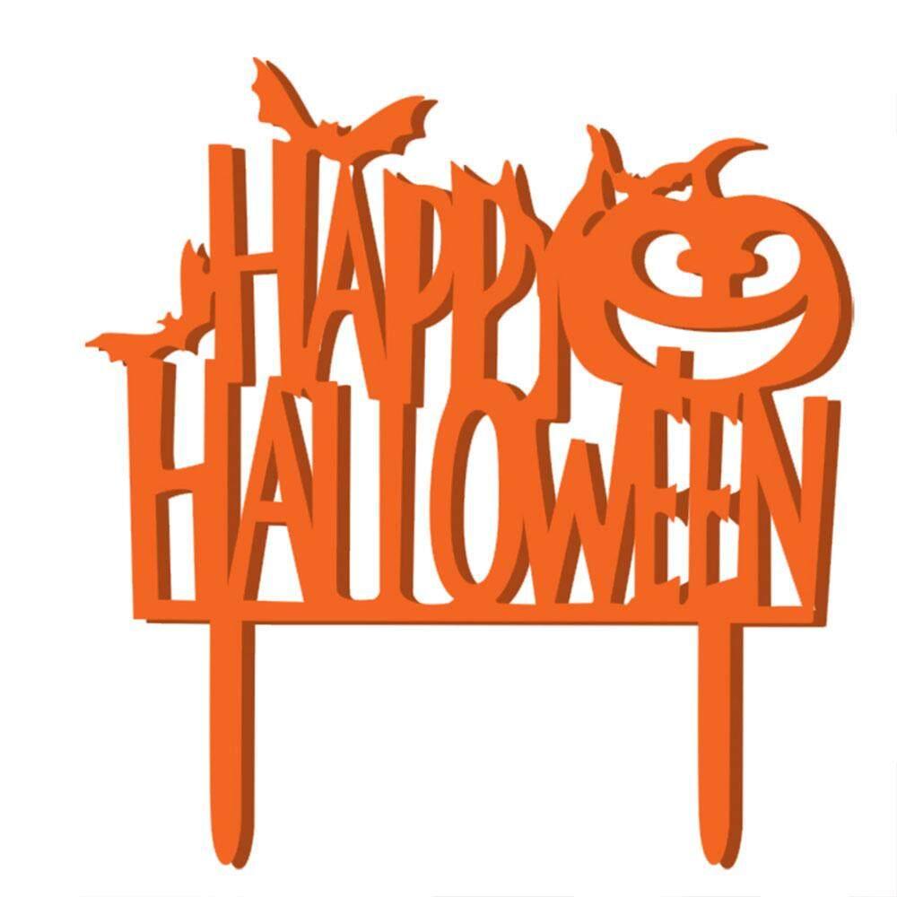 Happy Halloween Thư Bí Ngô Đáng Sợ Bánh Trang Trí đồ Kỷ Niệm Ngày Cưới Trang Trí Tặng Halloween