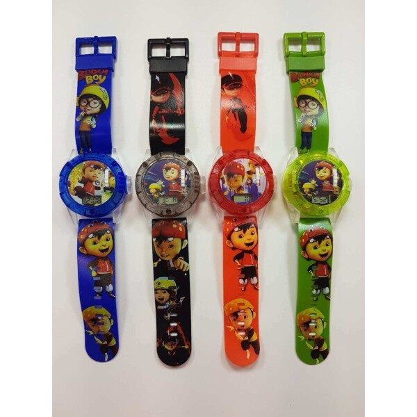 (READY STOCK) BOBOIBOY PROJECTOR KIDS TOY WATCH Malaysia