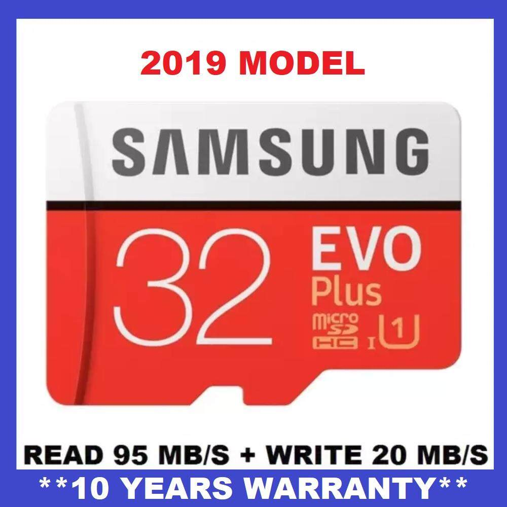 [OFFICIAL PRODUCT] 2019 Samsung 32GB 95MB/s Micro SD Evo Plus Class 10