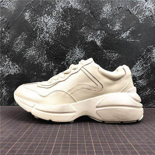 4d23920cb79 Gucci Official Men s Sports Sneakers Shoes Discounted Rhyton Vintage  Trainer Sneaker Size 40-44