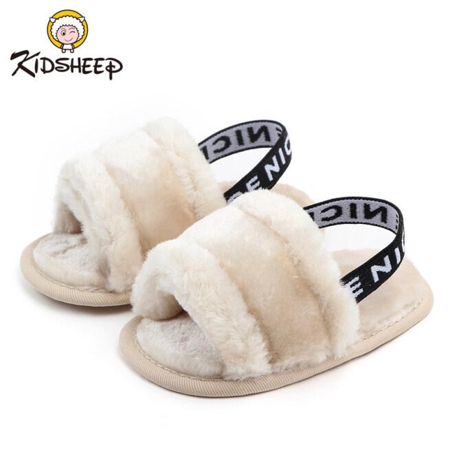 Kidsheep Giày trẻ em Giày cho trẻ mới biết đi Giày bông cho bé Làm dày và giữ ấm vào mùa đông giá rẻ