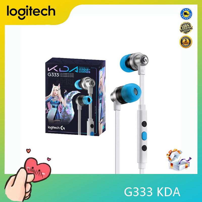 Logitech G333 K/DA Original Limited Edition In-ear Gaming Earphone Headphone For PC Laptop Computer Singapore