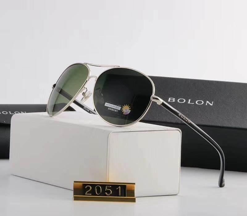 4cbbcf5c5 Bolon Sunglasses Men And Women Authentic Hd Polarized Driving Driving  Mirror Round Face Classic Retro Mirror