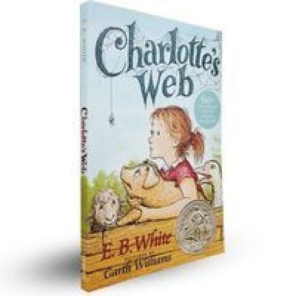 The Original English Version of the Text charlottes Web Charlottes Web Charlottes Web English Fiction Books